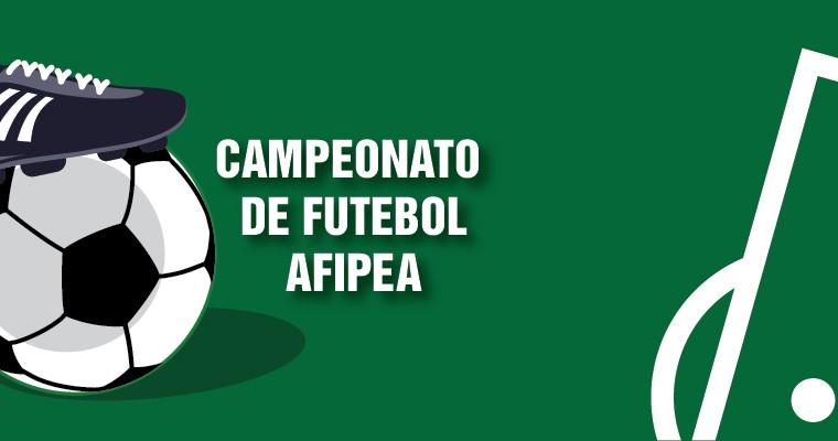 5cbb1e8f17 As pré-inscrições para o Campeonato de Futebol da Afipea encerram nesta  sexta