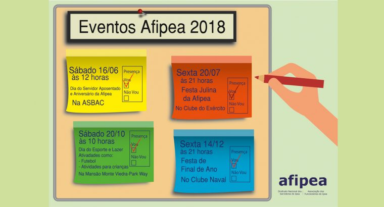 Eventos Afipea 2018
