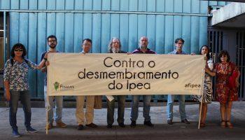 Mobilização contra o desmembramento do Ipea